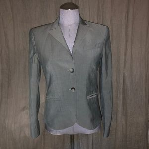 "theory light gray blazer 6 38"" bust"